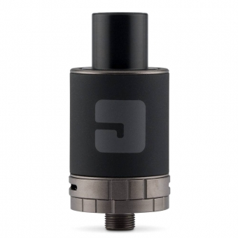 Atomizor Tank Jac Vapour S-22 Series Black, 2ml, Top fill, Compatibil MTL DL TC si Sub-ohm, Conector 510, Rezistenta 1 Ohm inclusa