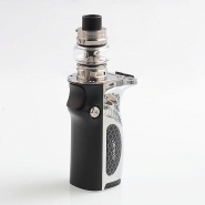 Kit Smok Mag Grip Prism Chrome and Black 100W, functie TC, Atomizor Tank TFV8 Baby V2