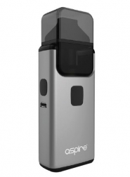 Kit Tigara Electronica AIO Aspire Breeze 2 Grey, 1000 mAh, 2 ml Tank MTL / DTL, 2 Rezistente 0.6 si 1 Ohm incluse, Tip POD