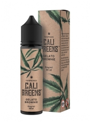 Lichid cu Terpene Naturale Cali Greens Gelato Brownie, 50ml, Shortfill 60 ml, Calitate Premium, Made in UK