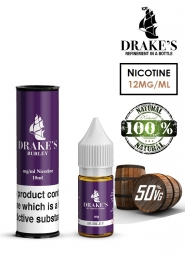 Lichid Tigara Electronica Drakes Burley Handcrafted, NET - Extras Natural din Frunze de Tutun Organic, Macerate la Rece, 10 ml, 12mg Nicotina