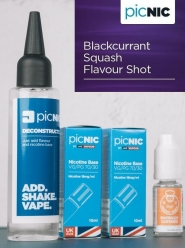 Lichid Tigara Electronica Premium Jac Vapour Blackcurrant Squash 70ml, Nicotina 5,1mg/ml, 80%VG 20%PG, UK made, Pachet DiY