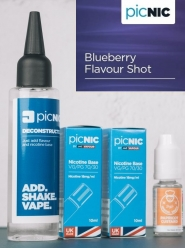 Lichid Tigara Electronica Premium Jac Vapour Blueberry 70ml, Nicotina 5,1mg/ml, 80%VG 20%PG, Fabricat in UK, Pachet DiY