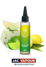 Lichid Tigara Electronica Premium Jac Vapour Bryn's Special Sauce Sour Lime Sorbet 50ml, Fara Nicotina, 80VG 20PG, Shortfill 60ml
