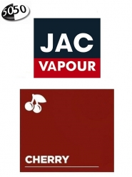 Lichid Tigara Electronica Jac Vapour Cherry 10ml cu Nicotina, 50%VG 50%PG, Fabricat in UK