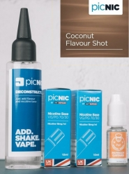 Lichid Tigara Electronica Premium Jac Vapour Coconut 70ml, Nicotina 5,1mg/ml, 80%VG 20%PG, Fabricat in UK, Pachet DiY