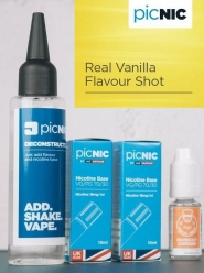 Lichid Tigara Electronica Premium Jac Vapour Real Vanilla 70ml, Nicotina 5,1mg/ml, 80%VG 20%PG, Fabricat in UK, Pachet DiY