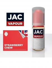 Lichid Tigara Electronica Premium Jac Vapour Strawberry Chew 10ml, cu Nicotina, VG/PG, Fabricat in UK