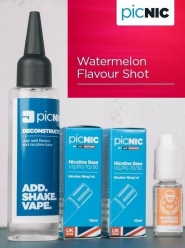 Lichid Tigara Electronica Premium Jac Vapour Watermelon 70ml, Nicotina 5,1mg/ml, 80%VG 20%PG, Fabricat in UK, Pachet DiY