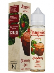 Lichid Vape Premium Jammin Strawberry Jam, 50ml, Fara Nicotina, 70VG / 30PG, Fabricat in UK, Shortfill 60ml