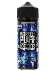 Lichid Tigara Electronica Premium Moreish Puff Cookies Blueberry Parfait, 100ml, Fara Nicotina, 70VG / 30PG, Fabricat in UK