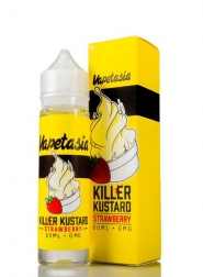Lichid Tigara Electronica Premium Vapetasia Killer Kustard Strawberry, 50ml, Fara Nicotina, 70VG / 30PG, Fabricat in USA, Shortfill 60ml