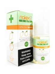 Lichid Vape Naked CBD Amazing Mango, 30ml, 600 mg, Izolat CBD, 2%, fara THC, fabricat in USA, Calitate Premium