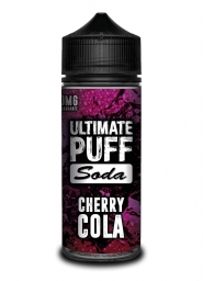 Lichid Vape Tigara Electronica Ultimate Puff Cherry Cola, 100ml, Fara Nicotina, 70VG / 30PG, Fabricat in UK, Calitate Premium