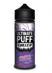 Lichid Vape Tigara Electronica Ultimate Puff Chilled Grape, 100ml, Fara Nicotina, 70VG / 30PG, Fabricat in UK, Calitate Premium